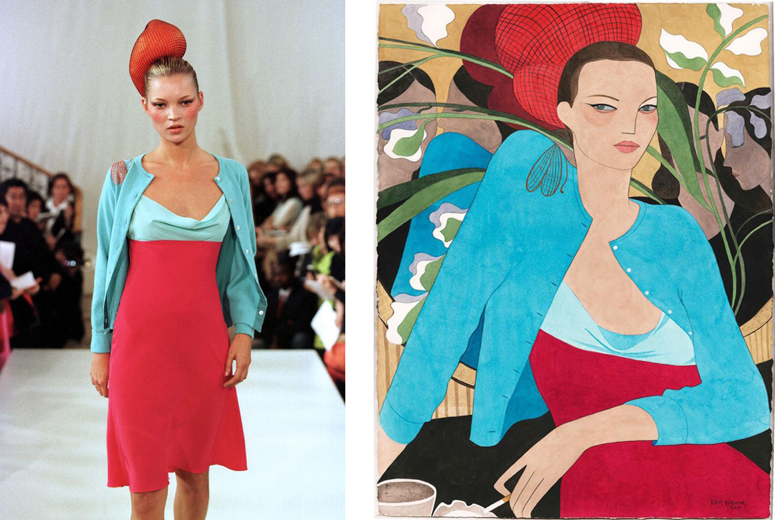 Matthew Williamson S/S 98 by Kelly Beeman