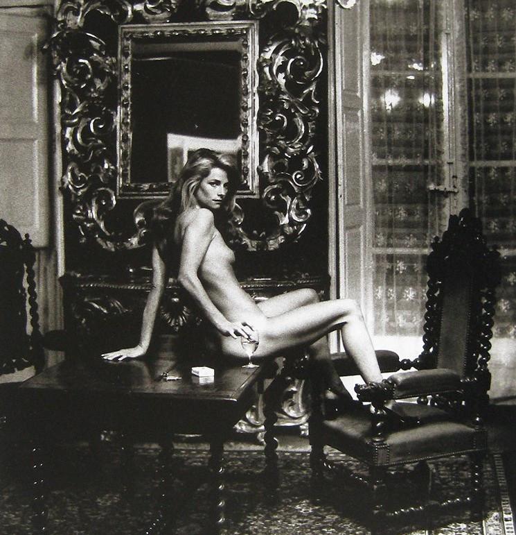 Charlotte Rampling by Helmut Newton, Vogue 1973