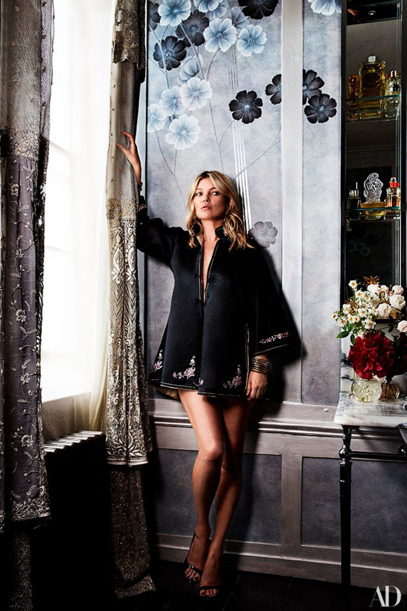 Kate Moss London home
