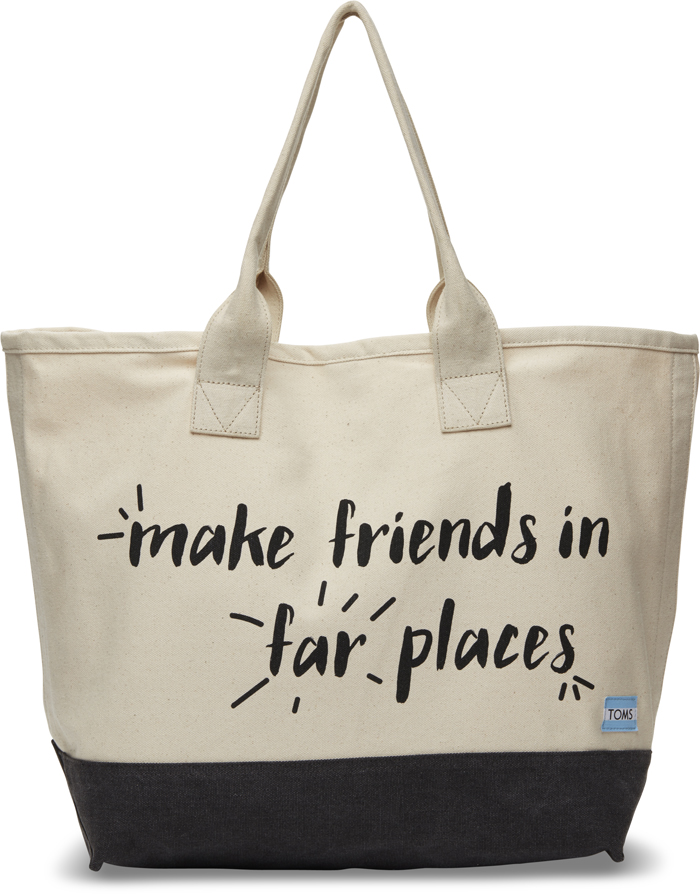 Natural Canvas All Day Tote