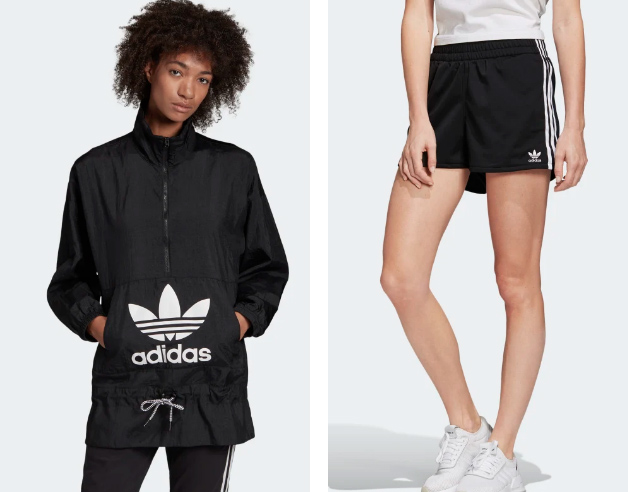 WINDBREAKER - 3-STRIPES SHORTS